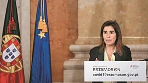 """Dimensão dos surtos de Covid-19 em lares """"não é demasiado grande"""", diz ministra"""