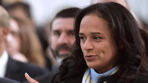 Congelados 280 milhões de euros a Isabel dos Santos