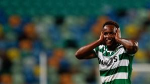 Jovane Cabral em dúvida para o jogo do Sporting frente ao Gil Vicente