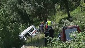 Comandante dos bombeiros diz que acidente na A4 em Amarante está a ser investigado