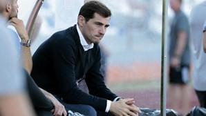 """Sérgio Ramos agradece a Casillas, uma das """"lendas do futebol"""""""