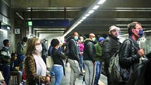 Carência de transportes faz disparar contágio por coronavírus em Lisboa e Vale do Tejo