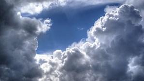 Temperaturas sobem mas céu continua nublado esta quarta-feira