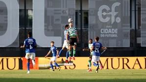 Sporting sobe ao terceiro lugar com vitória frente ao Belenenses SAD em dérbi lisboeta