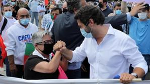 Atriz Maria Vieira desvaloriza insultos de Ventura a adversários políticos e diz que foi momento de boa disposição
