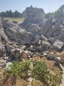Trovoada destrói cruzeiro do Santuário de Nossa Senhora do Naso em Miranda do Douro