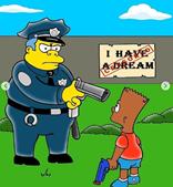 'Os Simpsons' mudaram de cor para que ninguém esqueça o crime que matou George Floyd