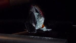 Autocarro do Benfica apedrejado