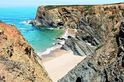 Praia do Tonel, na Zambujeira do Mar