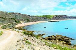Praia do Paimogo, na Lourinhã