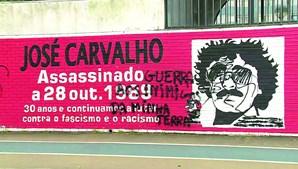 Mural em memória do militante José Carvalho foi vandalizado