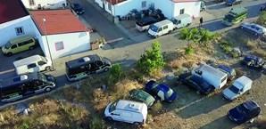 Operação decorreu ontem de manhã no bairro de São  Sebastião, em Campo Maior