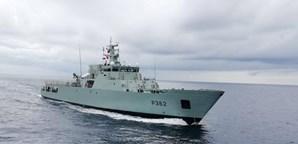 Dois navios da Marinha Portuguesa, 'Zaire' e 'Sines', estão a perseguir piratas nos mares do Golfo da Guiné.