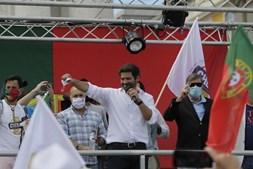 Manifestação do Chega em Lisboa