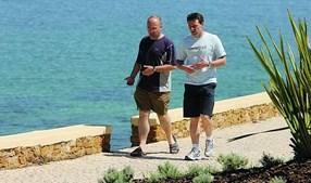 Buscas privadas foram feitas após saída do Ocean Club, sem serem vistos