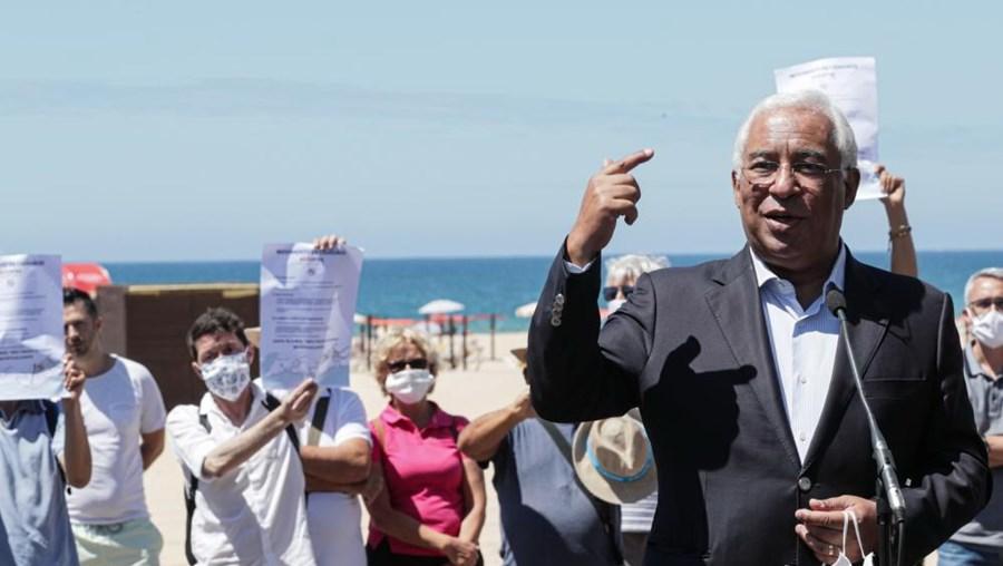 António Costa assinalou arranque da época balnear em Portimão
