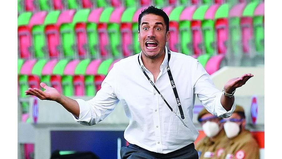 Julio Velázquez quer voltar a dar alegrias aos adeptos dos sadinos