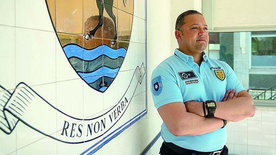 Subintendente Pedro Fortes é responsável por quase 'meia Lisboa'