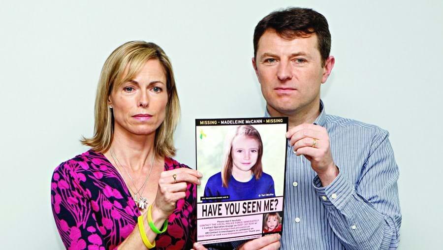 Kate e Gerry McCann fizeram vários apelos para encontrarem a filha