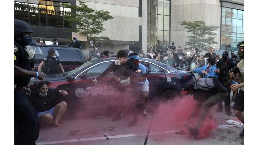 Protestos em Atlanta