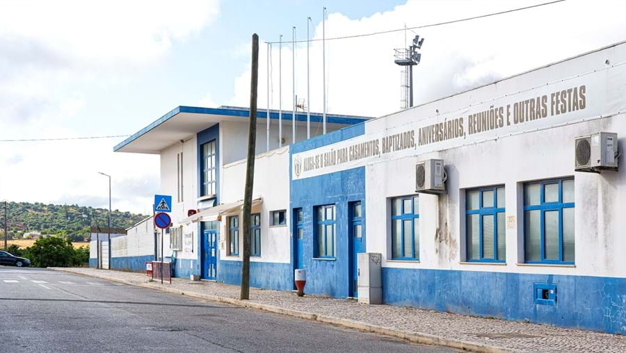 Salão de festas do Clube Desportivo de Odiáxere