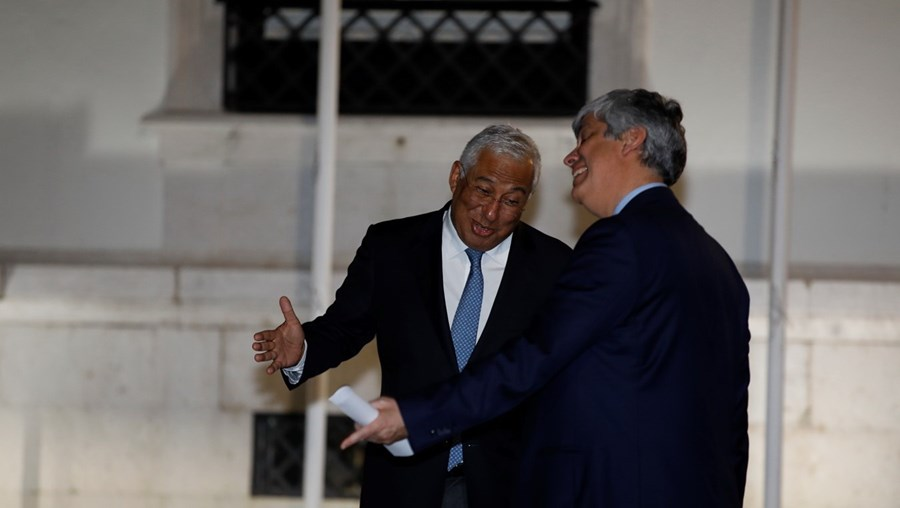 Mário Centeno foi a São Bento reunir-se com Costa a 13 de maio. O encontro serviu para combinar a saída do Governo