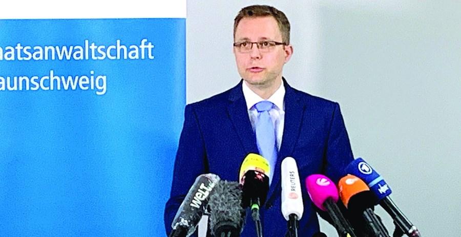Hans Christian Wolters, procurador alemão