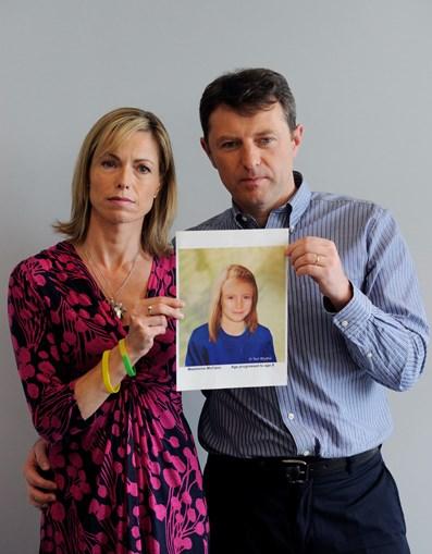 Kate e Gerry McCann querem conhecer os indícios