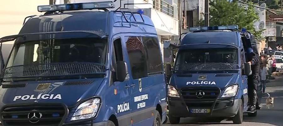 Megaoperação da PSP no Bairro Quinta da Lage na Amadora