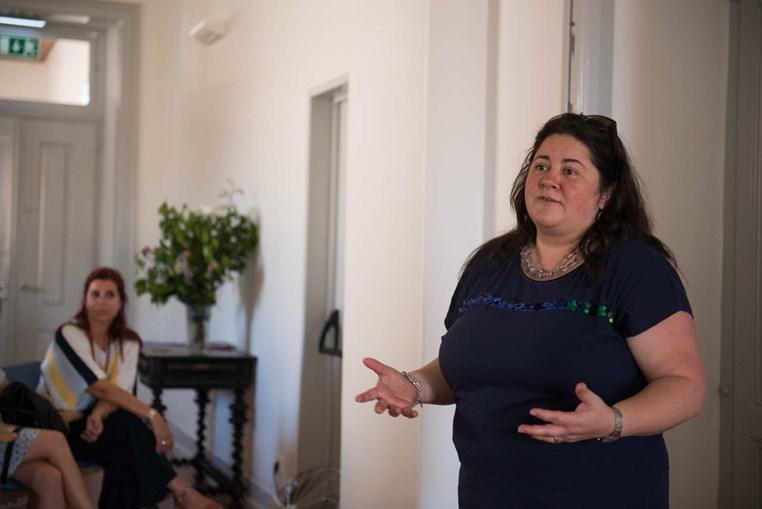 Etelvina Ferreira explicou de que forma o apoio foi mantido na pandemia (imagem de arquivo)