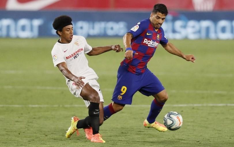 FC Barcelona 'escorrega' em Sevilha