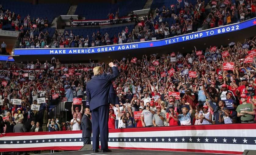 Bancadas semivazias deixaram Trump chocado e furioso