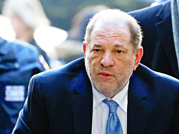 Harvey Weinstein tem 68 anos e encontra-se na prisão a cumprir pena