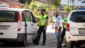 Autoridades mantêm-se nas fronteiras com Espanha para informar sobre medidas em vigor
