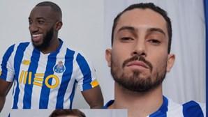 Esta é a nova camisola do FC Porto para a época 2020/2021