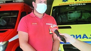 Bombeiro salva menino de cinco anos de sufocar em Paredes