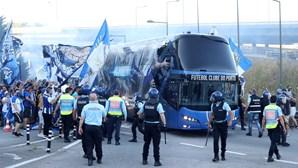 Festa do título do FC Porto provoca alarme