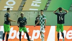 Sporting sem ideias falha no Minho e empata frente ao Moreirense