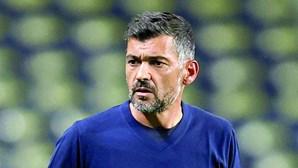 Sérgio Conceição à beira da saída do FC Porto