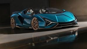 Novo Lamborghini Sián Roadster custa 3,5 milhões e já está esgotado
