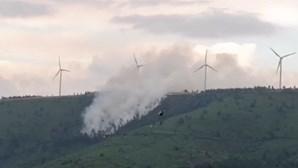 Chefe de equipa dos bombeiros de Miranda do Corvo morre em incêndio na Serra da Lousã