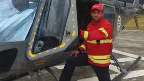 Bombeiro herói que morreu a combater fogo na Lousã traído por nuvem de fumo