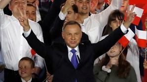 Presidente da Polónia infetado com a Covid-19