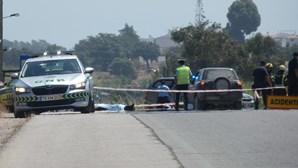 Dois mortos em colisão entre mota e jipe na EN125 em Moncarapacho