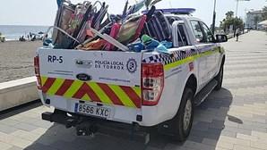 Banhistas que marcam lugar na praia multados em Espanha