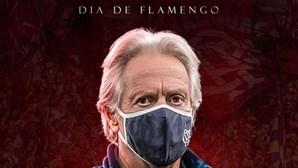 """""""Que possa festejar mais um título"""": Jorge Jesus deixa mensagem antes de jogo do Flamengo"""