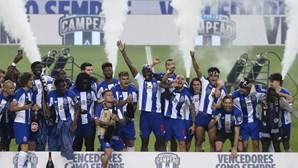 Dragões celebram 29.º título com vitória no 'clássico'