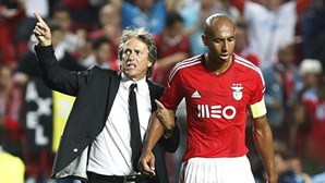 Jesus quer ter Luisão ao lado no Benfica