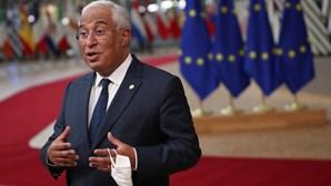 António Costa espera que Conselho Europeu não perca mais tempo com relançamento da economia