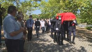 Centenas no último adeus a militar da GNR atropelada na A1